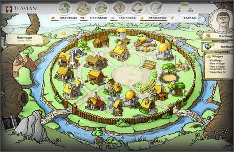 village Travian