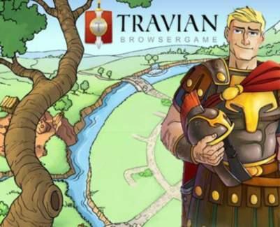 jeu Travian MMORPG